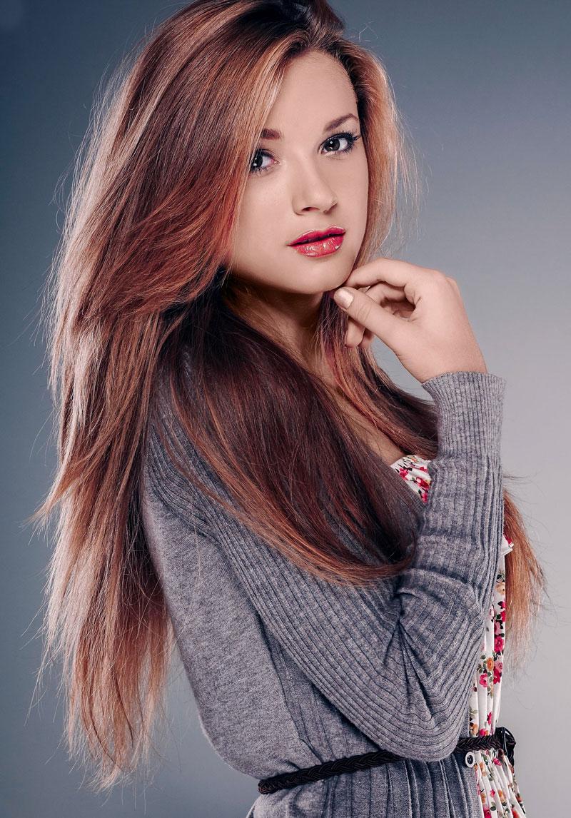 Cooler Stufenschnitt Fur Lange Dicke Haare Glatte Haare