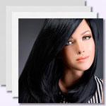 zur Bildergalerie - Schwarze Haare