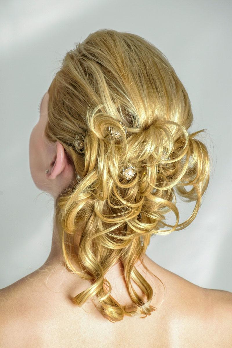 Partyfrisur Für Lange Haare Moderne Hochsteckfrisuren Mit Locken