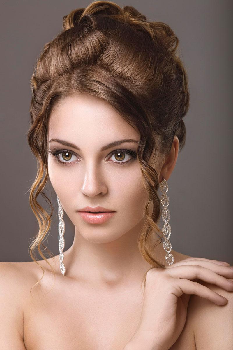 Hochsteckfrisuren für mittellanges Haar