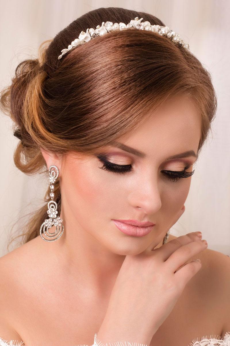 Eleganter Haarschmuck Mit Perlen Haarschmuck Für Braut Und Hochzeit