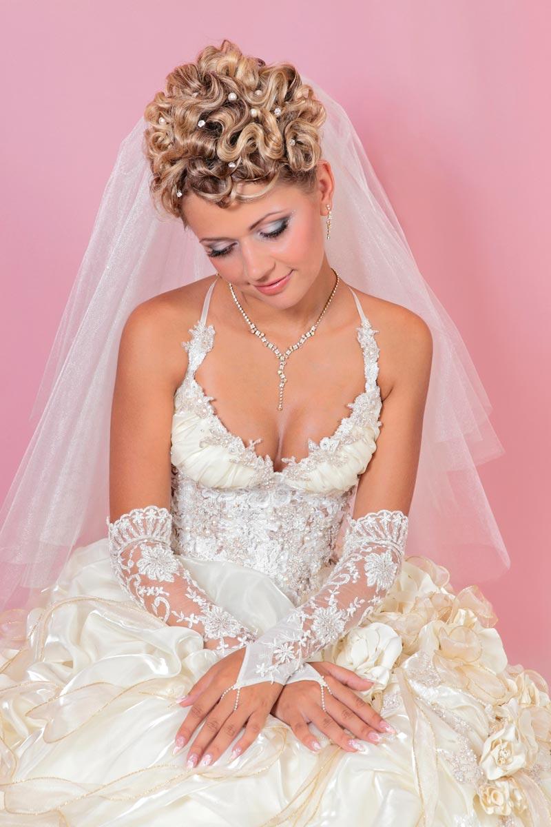 Festliche Hochzeitzeitsfrisur | Hochzeitsfrisuren