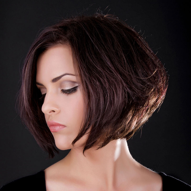 Frisuren mittellang hinterkopf
