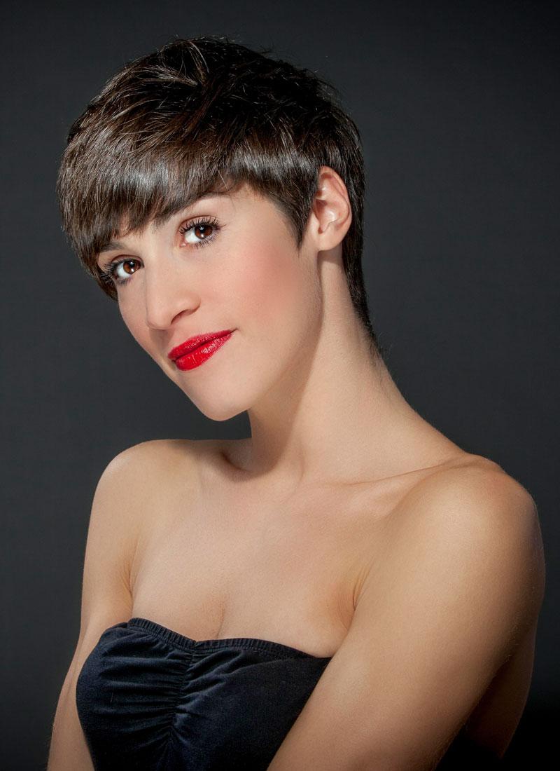 Pilzkopf Frisur Frauen