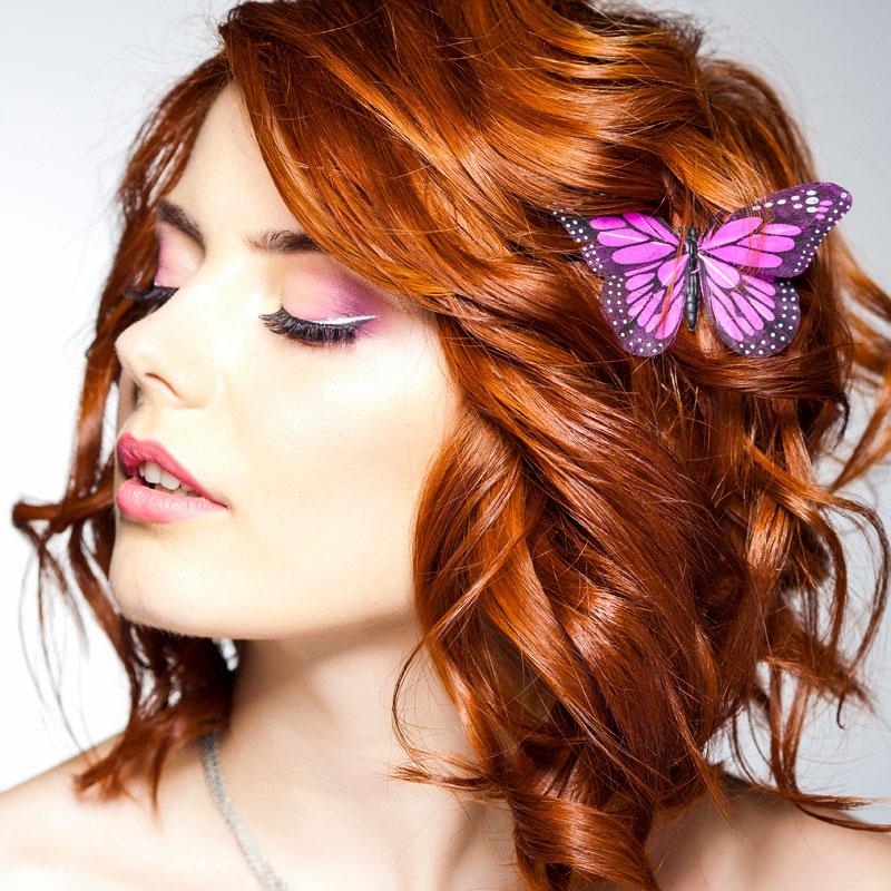 Frisuren mittellang rote haare