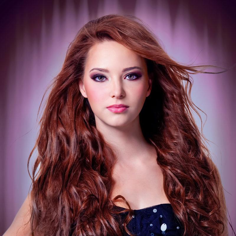 Rote frauen frisuren haare Frisurentrends