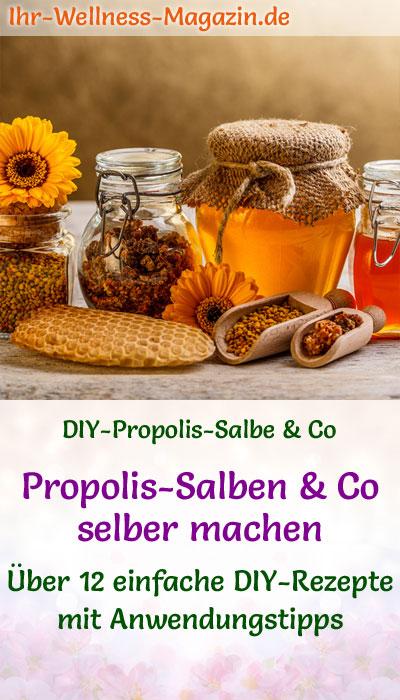 propolis salbe co selber machen rezepte und anwendungstipps. Black Bedroom Furniture Sets. Home Design Ideas
