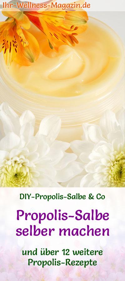 propolis salbe selber machen rezept und anwendungstipps. Black Bedroom Furniture Sets. Home Design Ideas