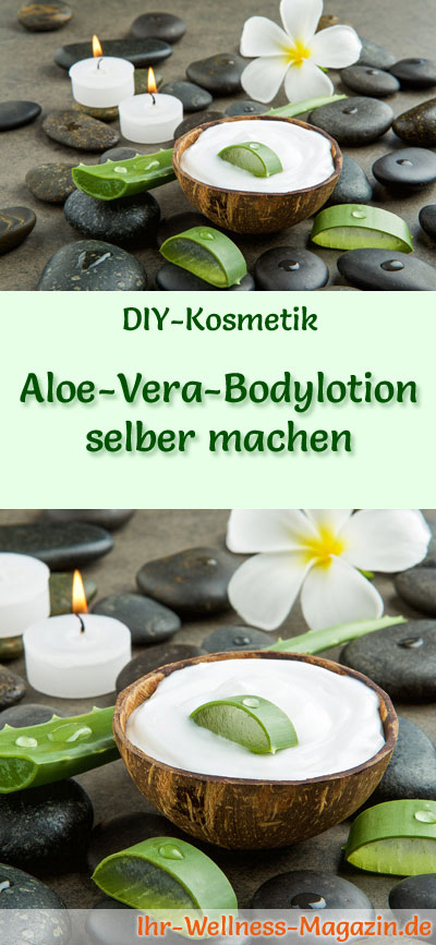 aloe vera bodylotion selber machen rezept anleitung. Black Bedroom Furniture Sets. Home Design Ideas