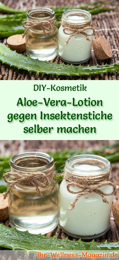 aloe vera lotion gegen insektenstiche selber machen rezept anleitung. Black Bedroom Furniture Sets. Home Design Ideas
