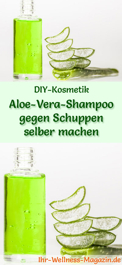 aloe vera shampoo gegen schuppen selber machen rezept anleitung. Black Bedroom Furniture Sets. Home Design Ideas