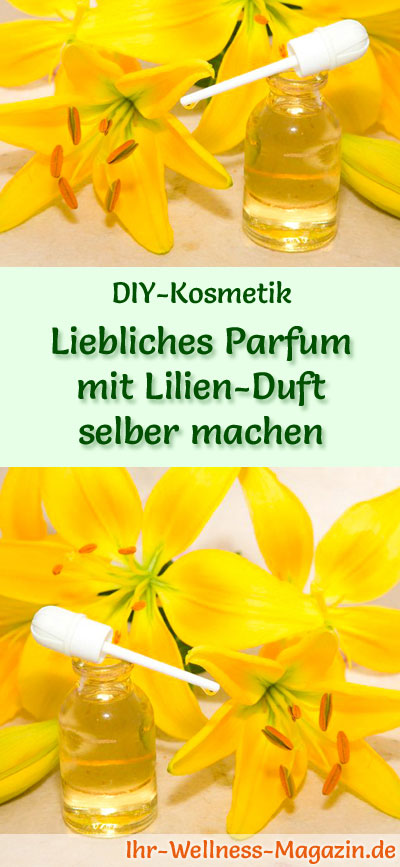 parfum rezept sinnlich liebliches parfum mit lilien duft. Black Bedroom Furniture Sets. Home Design Ideas