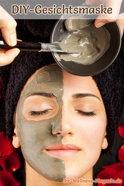 Heilerde-Gesichtsmaske selber machen