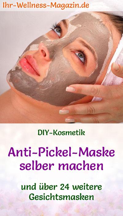 Anti Pickel Maske Selber Machen Rezept Und Anleitung