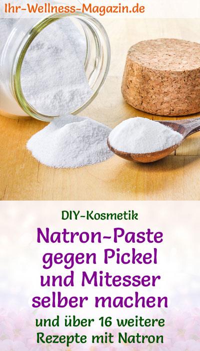 natron paste gegen pickel und mitesser selber machen rezept. Black Bedroom Furniture Sets. Home Design Ideas
