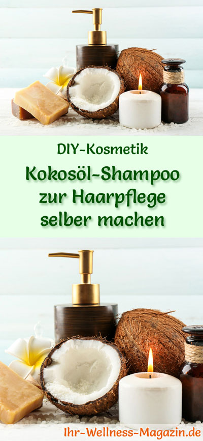 kokos l shampoo zur haarpflege selber machen rezept anleitung. Black Bedroom Furniture Sets. Home Design Ideas