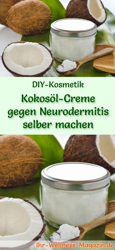 kokos l creme gegen neurodermitis selber machen rezept anleitung. Black Bedroom Furniture Sets. Home Design Ideas