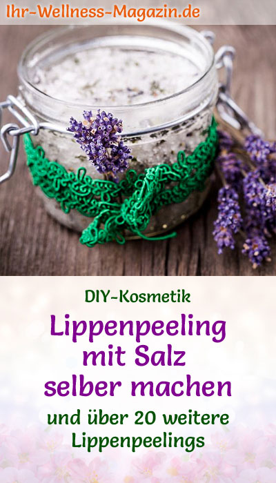 diy lippenpeeling mit salz lip scrub rezept. Black Bedroom Furniture Sets. Home Design Ideas