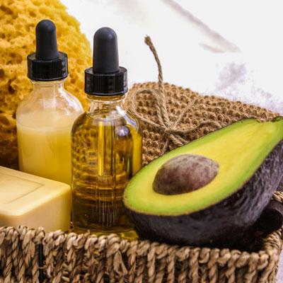 Lippenbalsam mit UV-Schutz mit Avocadoöl
