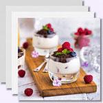 weiter zu -Eiweiß-Desserts