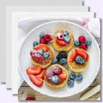weiter zu -Süße Protein-Pancakes