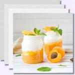 weiter zu -Eiweiß-Quark-Desserts