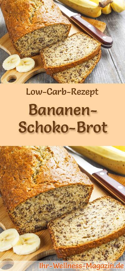 low carb bananen schoko brot rezept zum brot backen. Black Bedroom Furniture Sets. Home Design Ideas