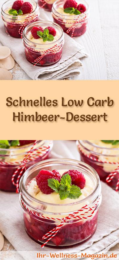 schnelles low carb himbeer dessert im glas rezept. Black Bedroom Furniture Sets. Home Design Ideas