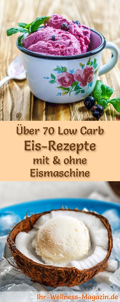 Uber 70 Low Carb Eis Rezepte Mit Und Ohne Eismaschine