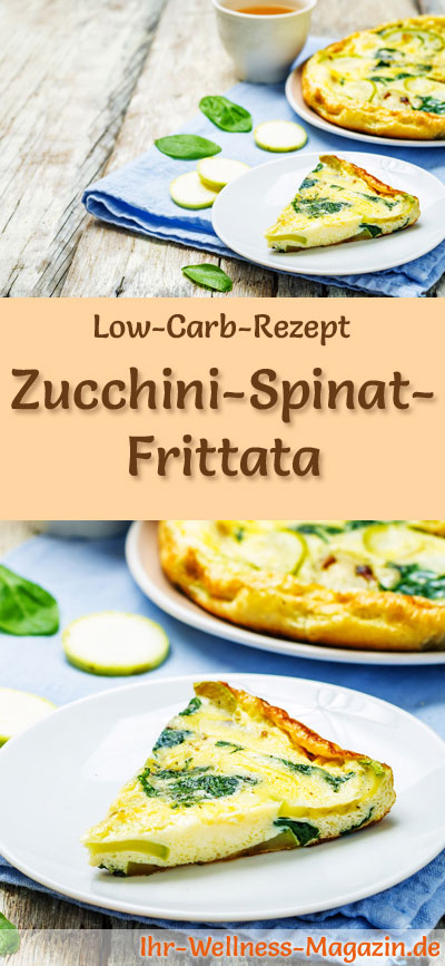 low carb zucchini spinat frittata fr hst ck. Black Bedroom Furniture Sets. Home Design Ideas