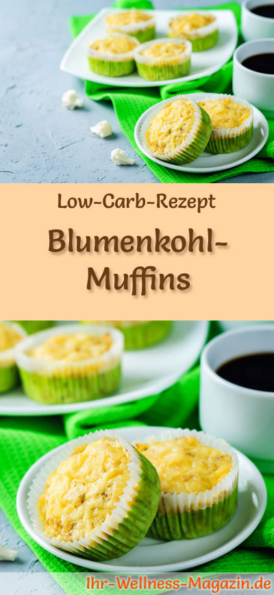 low carb blumenkohl muffins fr hst ck. Black Bedroom Furniture Sets. Home Design Ideas
