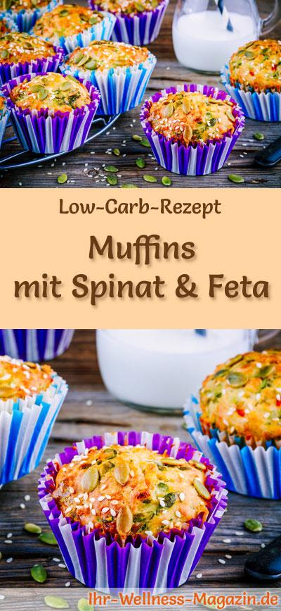 low carb muffins mit spinat und feta fr hst ck. Black Bedroom Furniture Sets. Home Design Ideas
