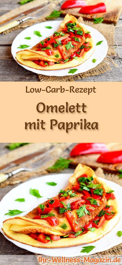 low carb omelett mit paprika fr hst ck. Black Bedroom Furniture Sets. Home Design Ideas