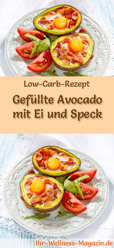 low carb avocado gef llt mit ei und speck fr hst ck. Black Bedroom Furniture Sets. Home Design Ideas