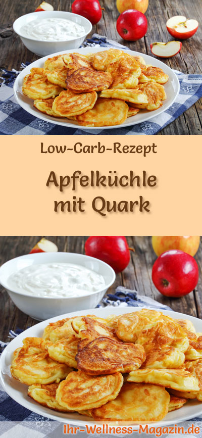 low carb apfelk chle mit quark fr hst ck. Black Bedroom Furniture Sets. Home Design Ideas