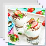 Low Carb Kuchen im Glas