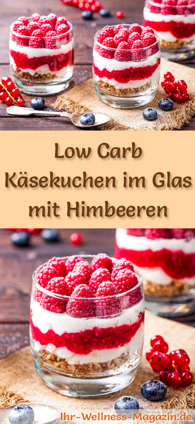 low carb himbeer k sekuchen im glas rezept ohne backen. Black Bedroom Furniture Sets. Home Design Ideas