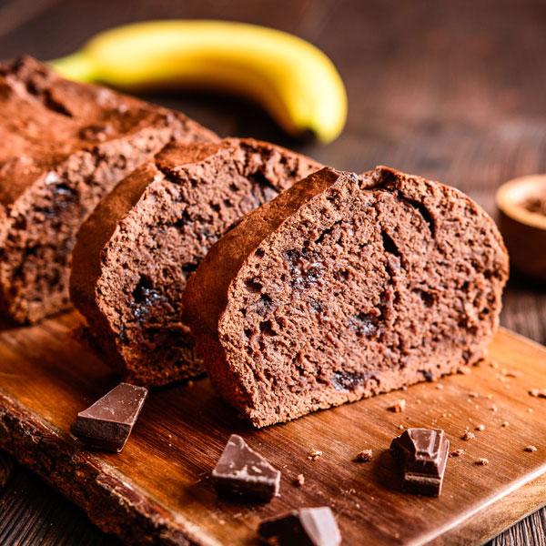 Schneller Saftiger Low Carb Schoko Bananen Kuchen Rezept Ohne Zucker