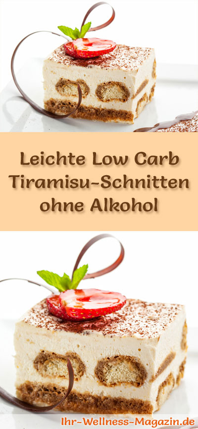 leichte low carb tiramisu schnitten ohne alkohol rezept. Black Bedroom Furniture Sets. Home Design Ideas