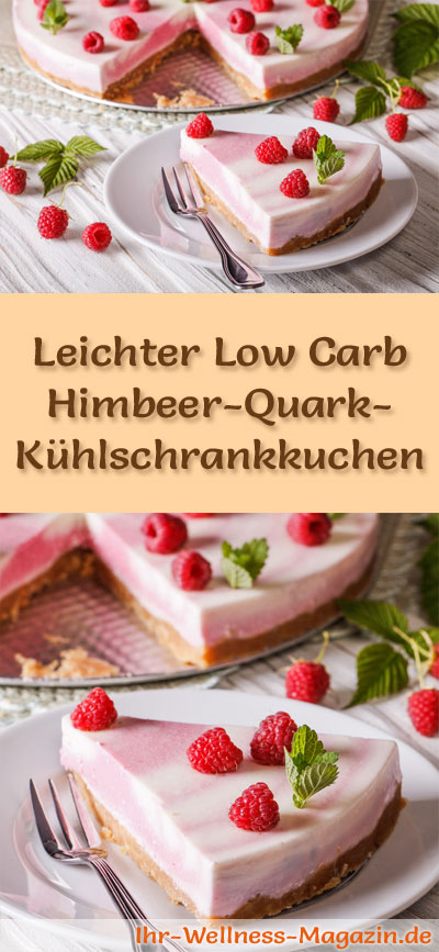 leichter low carb himbeer quark k hlschrankkuchen rezept. Black Bedroom Furniture Sets. Home Design Ideas