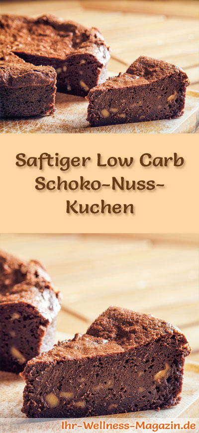 saftiger low carb schoko nuss kuchen rezept. Black Bedroom Furniture Sets. Home Design Ideas