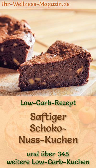 Saftiger Low Carb Schoko Nuss Kuchen Rezept Ohne Zucker