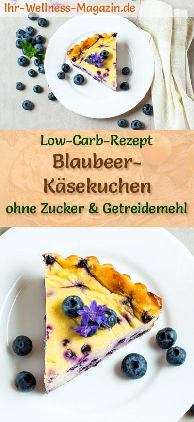 Low Carb Blaubeer Kasekuchen Ohne Boden Frischkase Kuchen Rezept