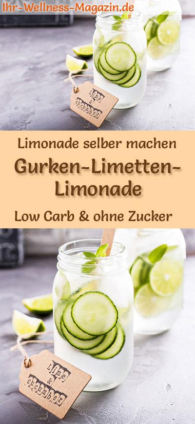 Selbstgemachte limonade ohne zucker