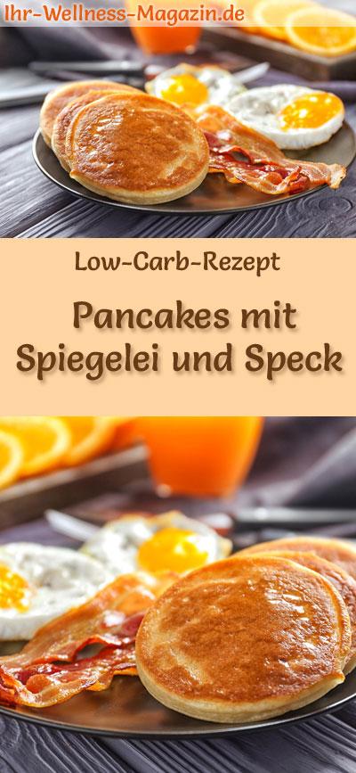 low carb pancakes mit spiegelei und speck herzhaftes pfannkuchen rezept. Black Bedroom Furniture Sets. Home Design Ideas
