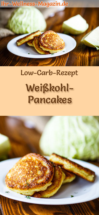 low carb wei kohl pancakes herzhaftes pfannkuchen rezept. Black Bedroom Furniture Sets. Home Design Ideas