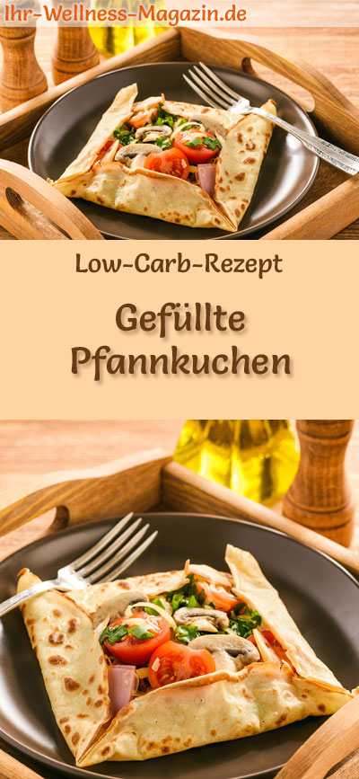 gef llte low carb pfannkuchen herzhaftes pancake rezept. Black Bedroom Furniture Sets. Home Design Ideas