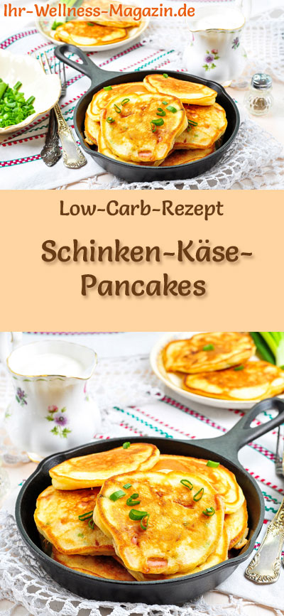 low carb schinken k se pancakes herzhaftes pfannkuchen rezept. Black Bedroom Furniture Sets. Home Design Ideas