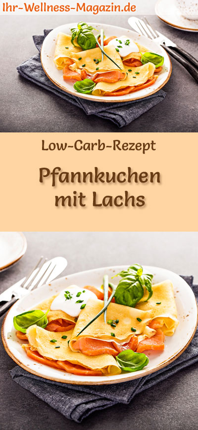 low carb pfannkuchen mit lachs herzhaftes pancake rezept. Black Bedroom Furniture Sets. Home Design Ideas
