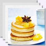 Low-Carb-Pancakes mit Quark